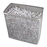 Hama Papierschredder Aktenvernichter (bis zu 7 Blatt, Kreuzschnitt, Schredder für Papier und Plastikkarten, Inkl. 14-Liter-Metallkorb) Shredder silber - 6