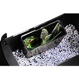 Hama Aktenvernichter (12 Blatt, Kreuzschnitt und Streifenschnitt, Schredder für Papier, CDs/DVDs/Blu-rays und Plastikkarten, Sicherheitsstufe 3, Premium X11CD) schwarz - 7