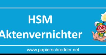 HSM Aktenvernichter